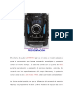 Sistema de Audio LG MCV904