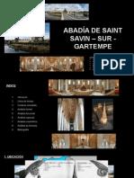 Abadia de Saint Savin- Sur- Gartempe