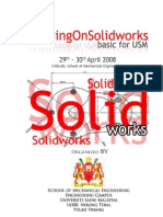 Solid Works Training Material