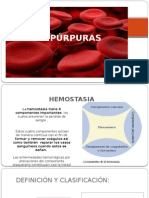 púrpuras pediatria
