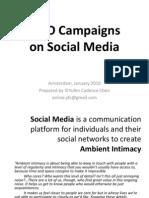 Social Media & NGO Campaigns