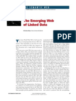 The Emerging Web of Linked Data