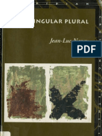 Jean-Luc Nancy Singular Plural