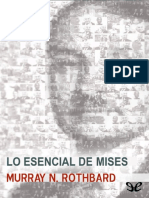 Rothbard, Murray Newton - Lo esencial de Mises [14339] (r1.1).epub
