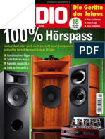 Audio (HiFi Surround Musik) Magazin April No 04 2015