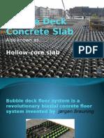 Bubble Deck Concrete Slab