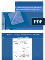 A snapshot of Vietnamese transportation, infrastructure system, and construction management practices