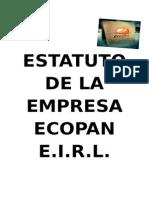 ESTATUTO DE LA EMPRESA ECOPAN E.docx