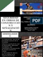 Seguridad en Obras y Señalizaciones