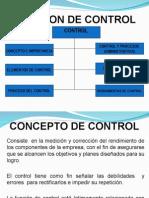 Función Control