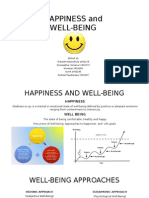 Happiness and Well Being Group 7