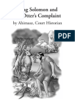 King Solomon and the Otter's Complaint