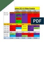 wiebe 2015-16 weekly schedule