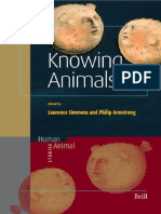 Simmons & Armstrong Knowing Animals 2007