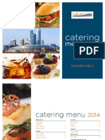 Soldier Field Catering Menu