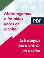 Estrategias Contra El Alcoholismo en La Adolescencia