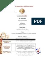 CUADRO COMPARATIVO DE LOS PRECURSORES DE LE ECOLOGIA, DESARROLLO SUSTENTABLE