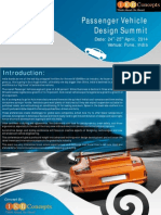 Passenger Vehicle Design Summit