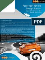 Passenger Vehicle Design Summit