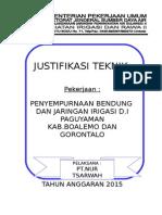 Justifikasi Teknik Finalisasi