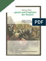 Helmut Obst Apostel Und Propheten Der Neuzeit