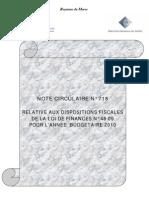 Circulaire 718 PDF