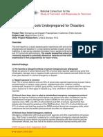 Artigo - Public Schools Underprepared for Disasters