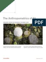 Se the Anthropometrics of Fit