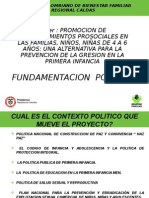 CONTEXTO POLITICO EVENTO DE SENSIBILIZACION PARA EL DESARROLLO DEL PROYECTO.ppt