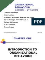 organisational behaviour Lesson 1