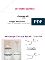 Adrenoceptor Agonist and Antagonist Drugs-2014.10.7ppt