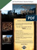 Supreme Clientele Travel_Harry Potter Package