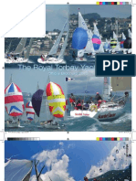 Royal Torbay Yacht Club brochure