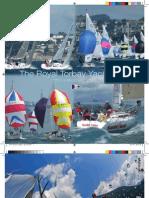 Royal Torbay Yacht Club brochure