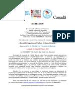 Invitation - Seminaire Du Pr. Dr. Mireille CYR