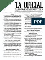 Sumario Gaceta Oficial 39.379