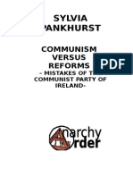 Pankhurst, Sylvia - Communism vs Reforms