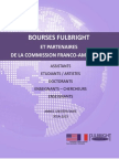 Bourses Fulbright Et Commission Franco-US 2014 2015