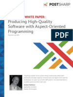 Producing High-Quality Software With Aspect-Oriented Programming