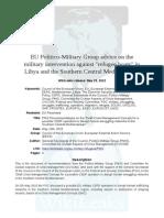 Eu Military Refugee Plan PMG