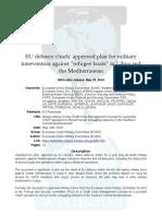 Eu Military Refugee Plan EUMC