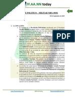 Reporte Político - Militar 09-01