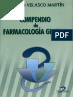 Compendio de Farmacologia General de Velasco 1era Edicion