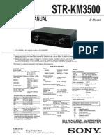 Sony Str-km3500 Sm