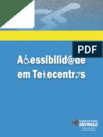Cartilha Acessibilidade Telecentro 2013