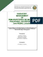 PAPETERIES DE MAUDUIT  PHILIPPINES, INCORPORATED SAN PEDRO, LAGUNA