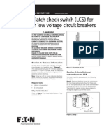 Remote Latch check switch