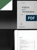 G Enescu Fizica Pentru Tehnicieni Vol 1