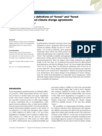 """Critical need for new definitions of """"forest"""" and """"forest degradation"""" in global climate change agreements"""