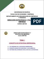 DirecciónEstrategica-PoliticaEmpresa